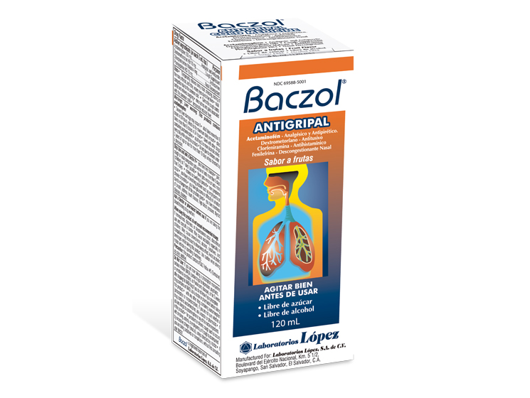 Baczol Antigripal Frasco x 120 mL